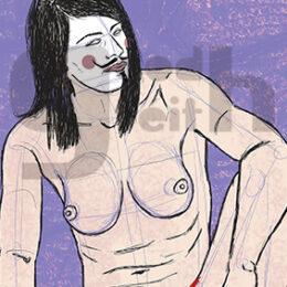 Exposición: V de Vagina. Ilustración: V de Viable