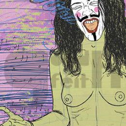 Exposición: V de Vagina. Ilustración: V de Voz