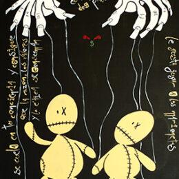 Exposición: Monstruos. Ilustración: Monstruo del poder