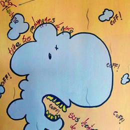 Exposición: Monstruos Ilustración: Monstruo del tabaco