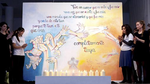 Exposición: Despertando la consciencia. Casa de la Mujer, Zaragoza. Proyecto Cierzo