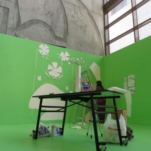 Exposición Proyecto Cierzo. Jardín Ilustrado