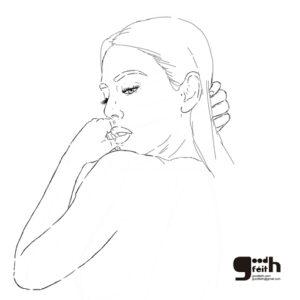 sketching. Blanca Suarez