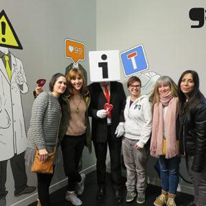 Exposición señales. Centro de Historia, Zaragoza. Inauguración