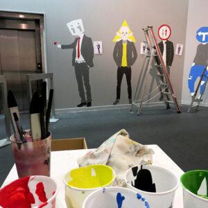 Exposición señales. Centro de Historia, Zaragoza.