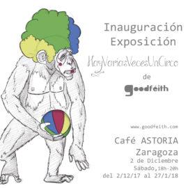 """Inauguración Exposición """"HayVariasVecesUnCirco"""""""
